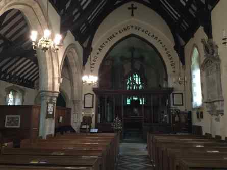 chawton church interior - 1